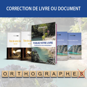 Corrections de livre ou de document
