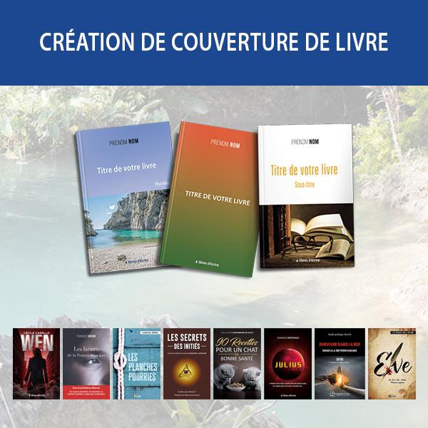 Création de couverture de livre