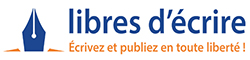 Libres d'écrire | Auto-édition Logo
