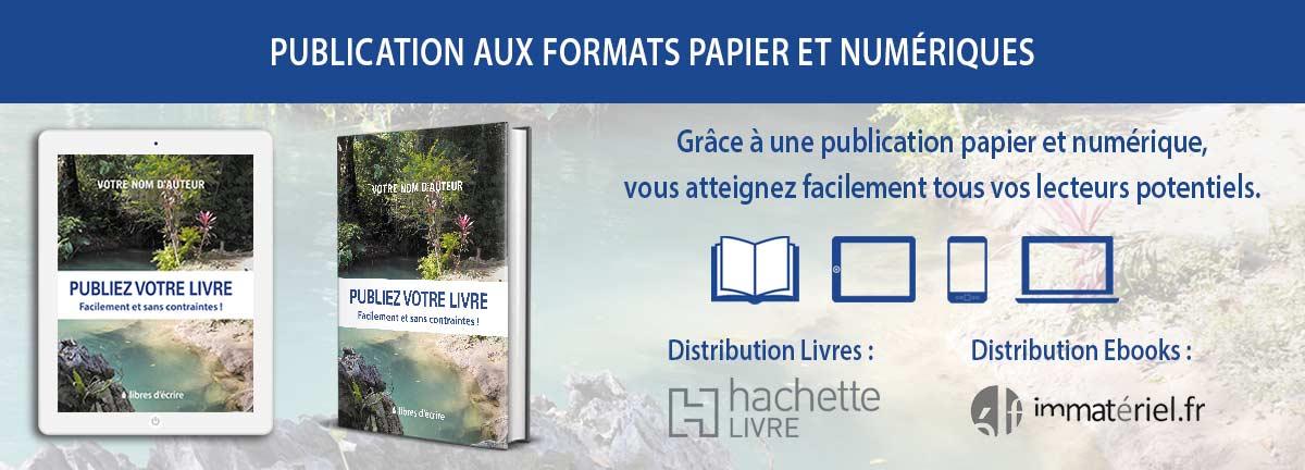 Publier son livre aux formats papier et ebooks en auto-édition